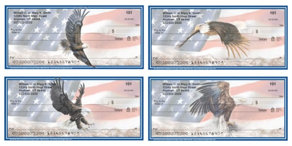God Bless America Personal Checks