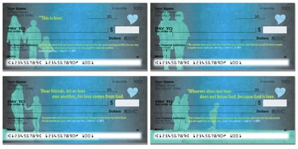 God's Love Personal Bank Checks