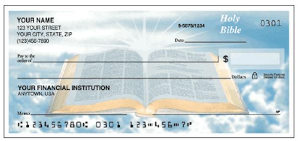 Holy Bible Checks