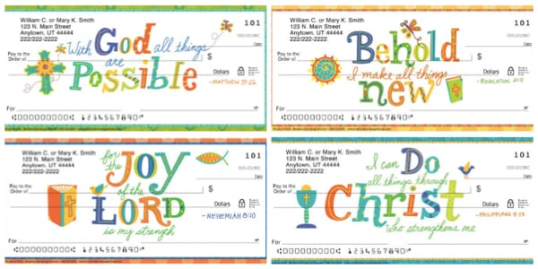 Words of Faith Personal Checks