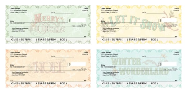 Christmas is Calling Personal Checks