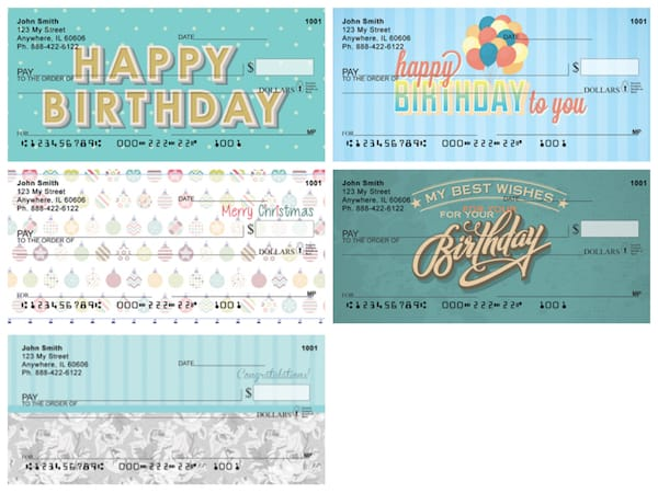 Happy Birthday Checks