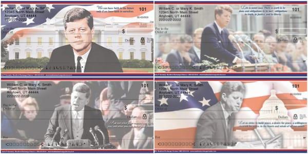 President John F Kennedy Personal Checks