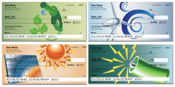 Alternative Energy Personal Checks