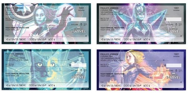 Captain Marvel Personal Checks