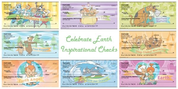 Celebrate Earth Inspirational Checks