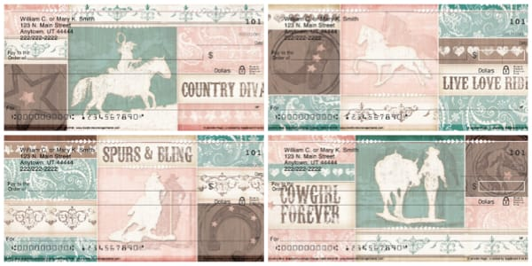 Country Diva Personal Checks