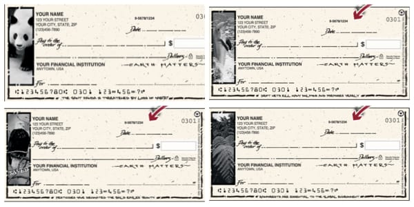 Earth Matters Personal Checks