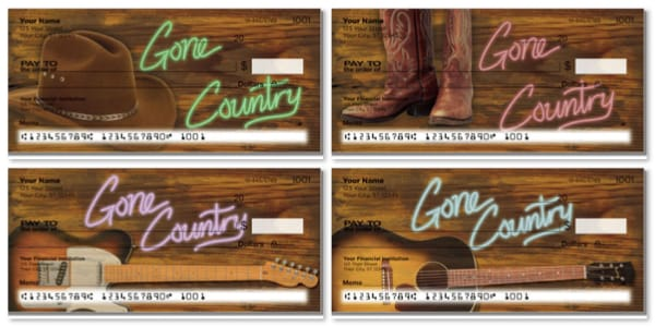 Gone Country Personal Checks