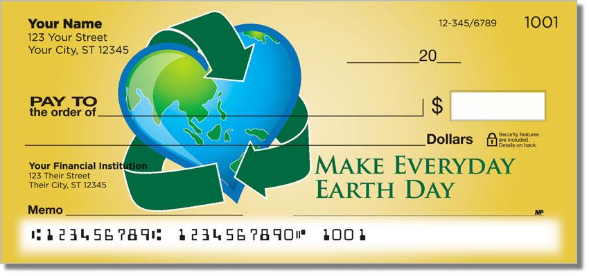 Green Living Earth Checks
