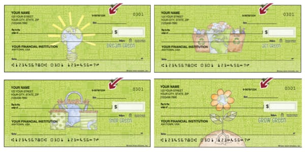 Green Living Personal Checks