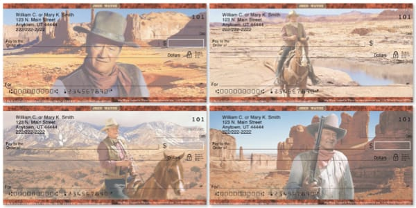 John Wayne Personal Checks