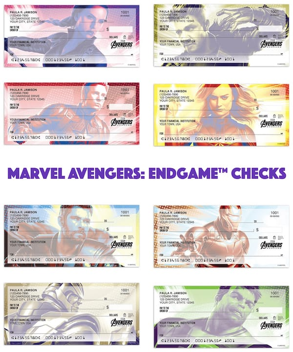 Marvel Avengers- Endgame Checks
