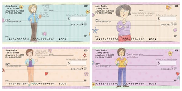Mom Personal Checks by My Friend Ronnie