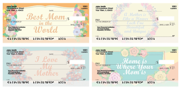 Mothers Day Personal Checks