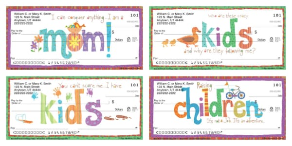 Raising Kids Rules! Personal Checks