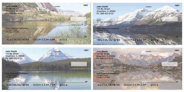 Scenic Reflection Personal Checks