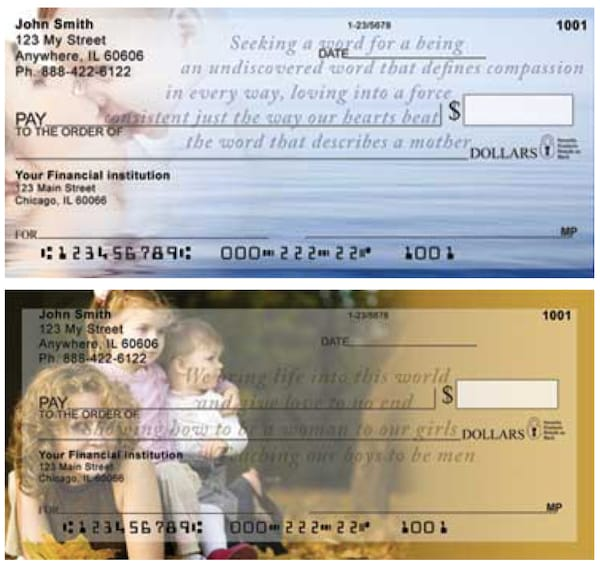 Sweet Intentions Motherhood Personal Checks