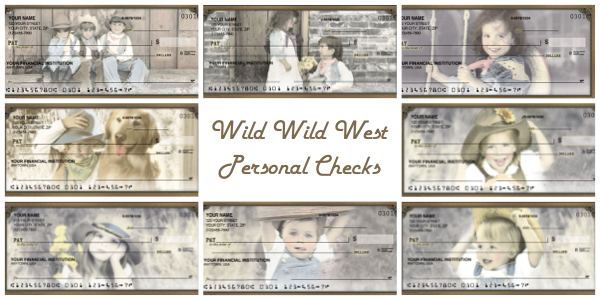 Wild Wild West Personal Checks