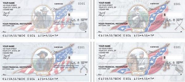 Civil War Personal Checks