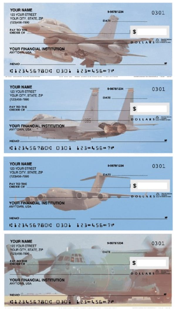 US Air Force Personal Checks