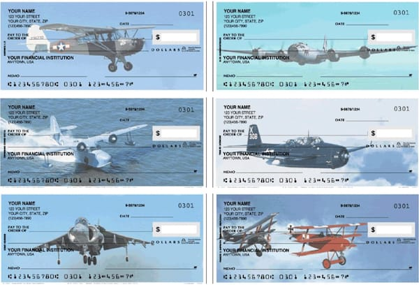 Warbirds Personal Checks