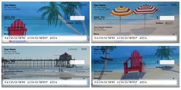 Beach Art Personal Checks