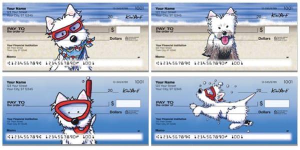 Beach Dogs Personal Checks