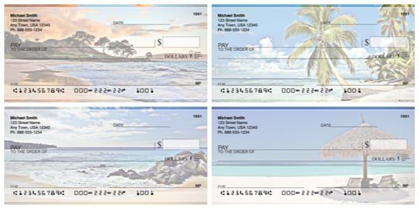 Beach Scenes Personal Checks