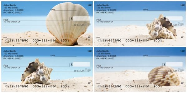 Beach Shells Personal Checks