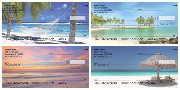 Escape to Paradise Beach Checks