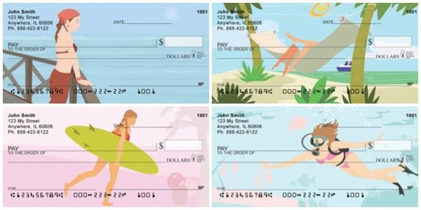 Fun in the Sun Personal Checks