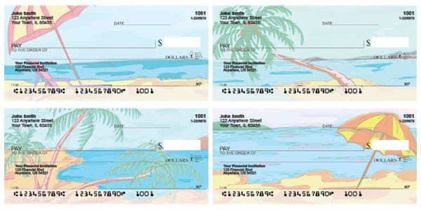 Just Beachy Personal Checks