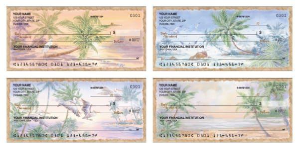 Palm Tree Personal Checks