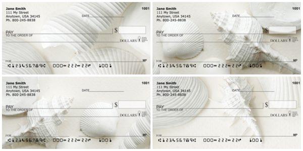 Perfectly White Shells Personal Checks