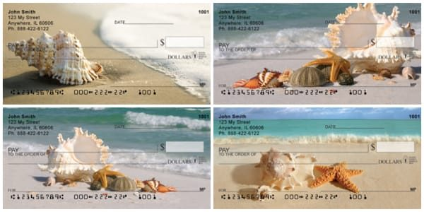 Sand and Shells Personal Checks