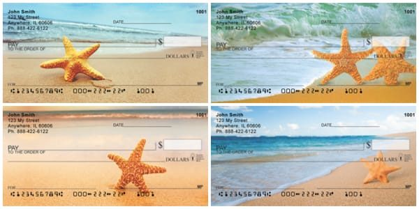 Starfish On Parade Personal Checks