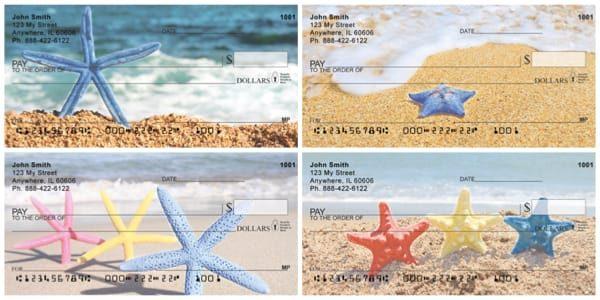 Stars of the Sea Starfish Personal Checks