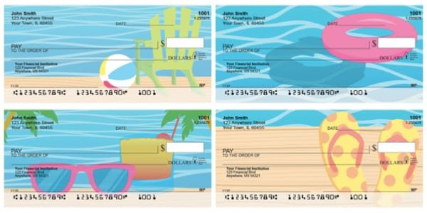 Summer Essentials Personal Checks