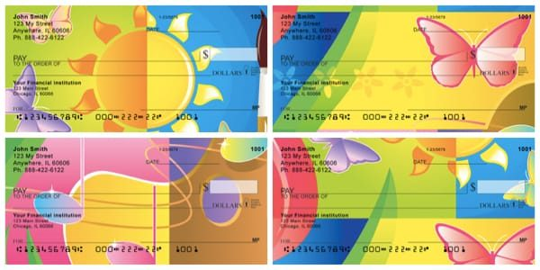 Summer Fun Personal Checks