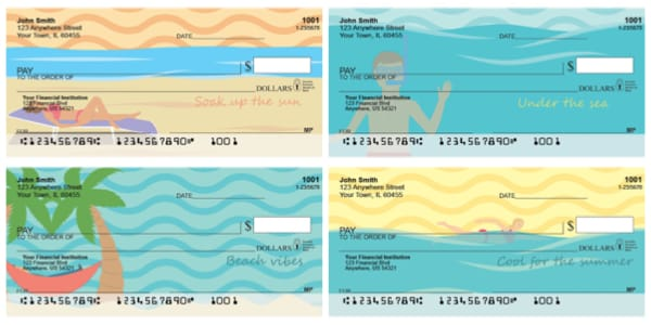 Summer Vibes Personal Checks