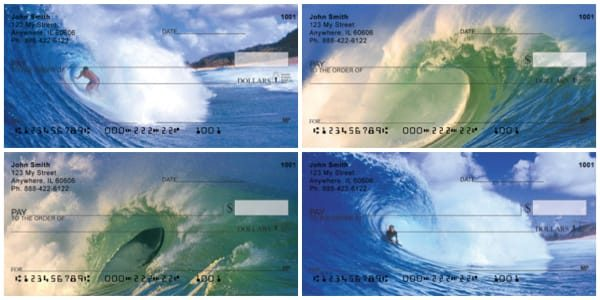 Surfs Up Personal Checks