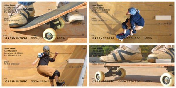 Skateboarding Summers Personal Checks