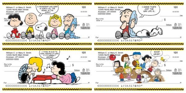 Classic Peanuts Checks