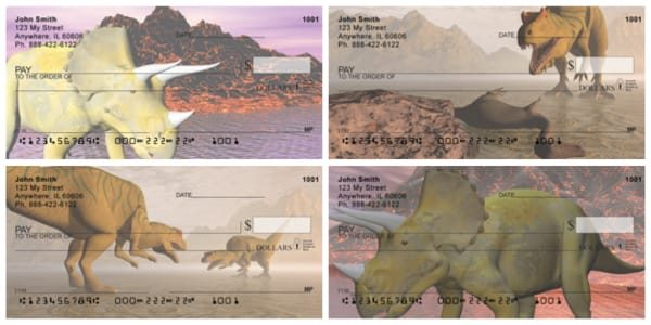 Dinosaur Planet Personal Checks