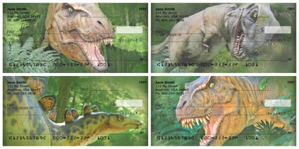 Dinosaurs Nextdoor Personal Checks