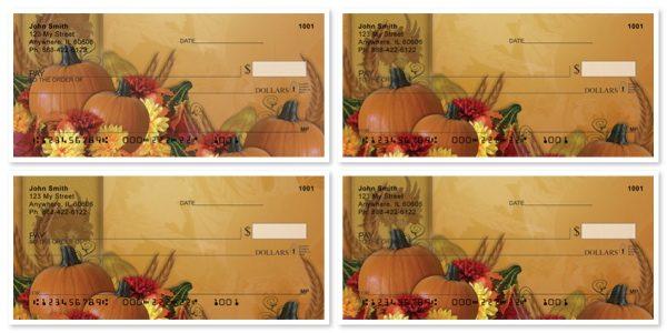Fall Celebrations Personal Checks