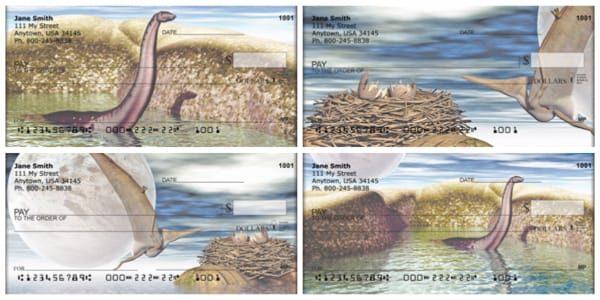 New World Dinosaurs Personal Checks