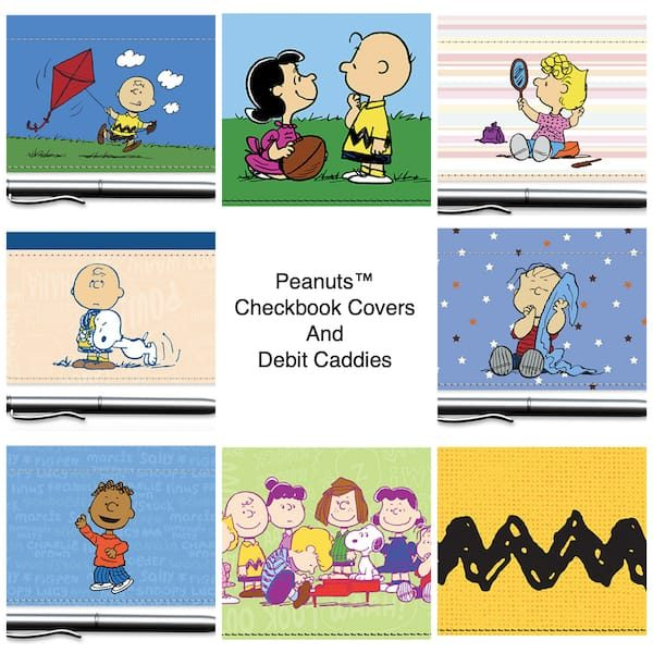 Peanuts™ Checkbook Covers and Debit Caddies