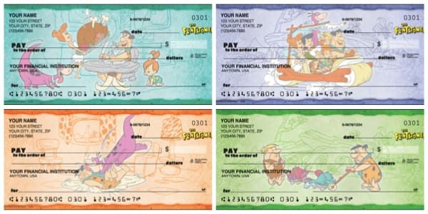 The Flintstones Personal Checks